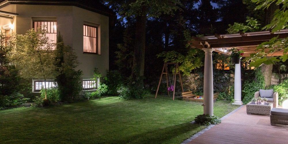 backyard lighting design